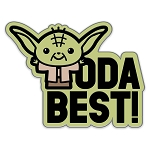 Disney Pin by Her Universe - Star Wars - Yoda Best