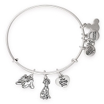 Disney Parks Alex and Ani Bracelet - Reigning Cats and Dogs - Disney Dogs