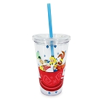 Disney Travel Tumbler with Straw - Alice in Wonderland - Mad Tea Party