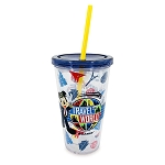 Disney Travel Tumbler with Straw - Soarin' Around the World - Mickey Mouse