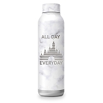 Disney Stainless Steel Water Bottle - Fantasyland Castle - All Day Everyday