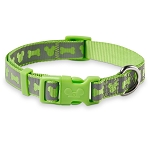 Disney Tails Reflective Dog Collar - Mickey Mouse - Green