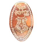 Universal Pressed Penny - Harry Potter Hogwarts School of Witchcraft and Wizardry Crest