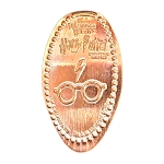 Universal Pressed Penny - Harry Potter Lightning Bolt Scar and Glasses