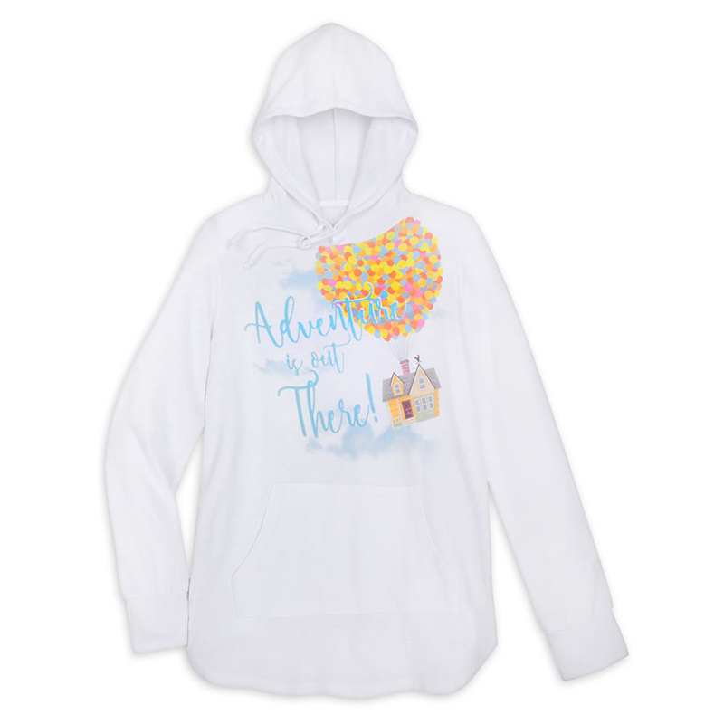 Disney Women's Hoodie - Pixar - Up House - Adventure Is Out There