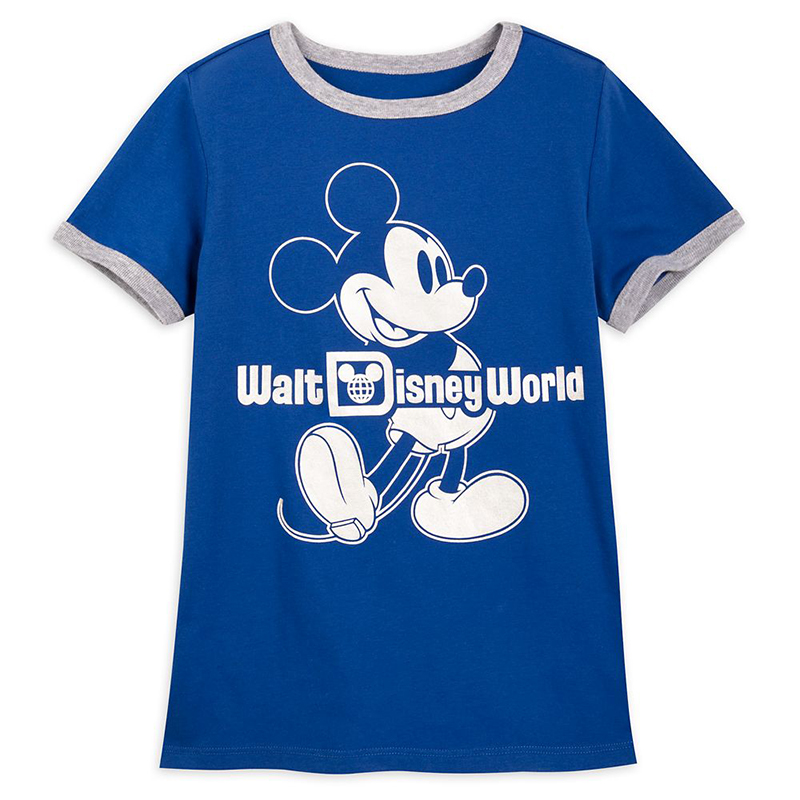 Disney Youth Shirt - Wishes Come True Blue - Mickey Mouse