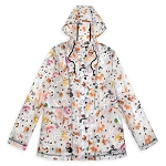 Disney Women's Rain Jacket - Reigning Cats and Dogs