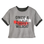 Disney Women's Shirt - High School Musical - Once A Wildcat Always a Wildcat