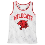 Disney Women's Shirt - High School Musical - Wildcats Mascot - Tank Top