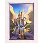 Disney Artist Print - Greg McCullough - Magical Reflection