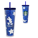 Disney Starbucks Tumbler w/ Lid - Wishes Come True Blue