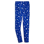 Disney Women's Leggings - Wishes Come True Blue