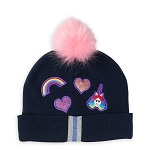 Disney Youth Beanie Hat - Inside Out - Rainbow Unicorn