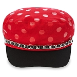 Disney Adult Pageboy Cap - Minnie Mouse Polka Dot
