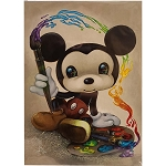 Disney Postcard - Jasmine Becket-Griffith Artist Mickey