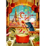 Disney Postcard - Joey Chou - Ratatouille