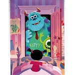 Disney Postcard - Joey Chou - Monster Inc.