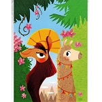 Disney Postcard - Nidhi Chanani - Walk the Llama