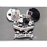 Disney Postcard - Fenway Fan - Mickey Head Magic - Steamboat Willie