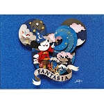 Disney Postcard - Fenway Fan - Mickey Head Magic - Fantasia