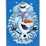 Disney Postcard - Chris Uminga - Olaf