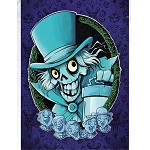 Disney Postcard - Chris Uminga - Hatbox Ghost and His Fiends