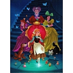 Disney Postcard - Dylan Bonner - A Scullery Maid No More