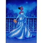 Disney Postcard - Dylan Bonner - A Wish on the Evening Star
