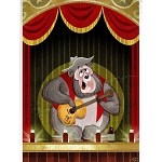 Disney Postcard - Sam Carter - Big Al