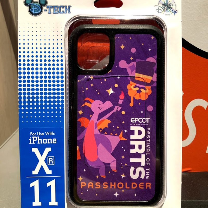 Disney Phone Case - Epcot Festival of the Arts 2021 - Figment - PASSHOLDER - iPhone XR / 11