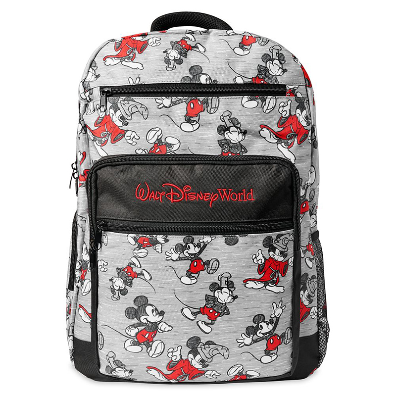 Disney Backpack - Walt Disney World - Mickey Mouse Sketch