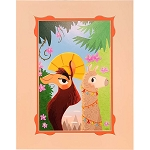 Disney Artist Print - Nidhi Chanani - Walk the Llama