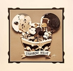 Disney Artist Print - Fenway Fan - Mickey Head Magic: Steamboat Willie