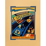 Disney Artist Print - Dave Perillo - A Race to the Finish Line