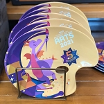 Disney Plate - Epcot Festival of the Arts 2021 - Figment