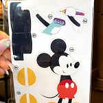 Disney Puzzle w/ Map and Stickers  - Figment's Brush with the Masters 2021 - Mickey Mouse