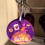 Disney Ornament - Epcot Festival of the Arts 2021 - PASSHOLDER - Figment