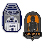 Disney Pin Set - Star Wars Galaxy's Edge - Droid Manufacture