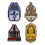 Disney Iron On Patch Set - Star Wars Galaxy's Edge - Droid Manufacture