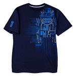 Disney Men's Shirt - Star Wars Galaxy's Edge - Droid Circuitry