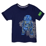 Disney Youth Shirt - Star Wars Galaxy's Edge - Droid Depot Circuitry
