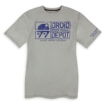 Disney Men's Shirt - Star Wars Galaxy's Edge - Droid Depot