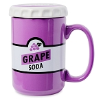 Disney Coffee Mug w / Lid - Pixar Up - Grape Soda