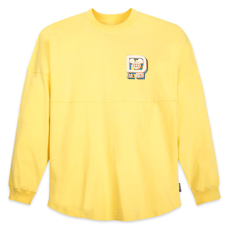 Disney Adult Shirt - Spirit Jersey - Walt Disney World - Yellow