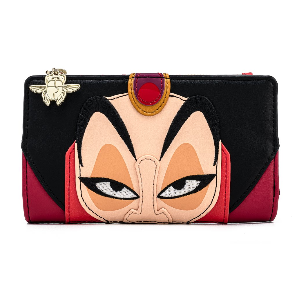 Disney Loungefly Wallet - Aladdin's Jafar Cosplay Flap Wallet