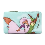 Disney Loungefly Wallet - Disney Robin Hood Rescues Maid Marian Flap Wallet