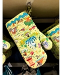 Disney Oven Mitt - Disney Theme Parks Attraction Icons
