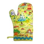 Disney Oven Mitt - Walt Disney World Park Map