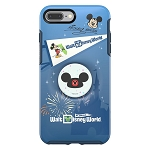 Disney OtterBox Phone Case w/ Pop Sockets Pop Grip  - Mickey Mouse - Walt Disney World Florida - iPhone 8 Plus