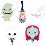 Disney Pin Set - Tim Burton's The Nightmare Before Christmas - Cute Characters